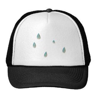 Water Drops Hat