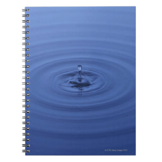 Water drops notebook