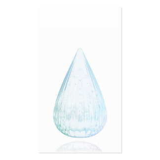Water drops pack of standard business cards