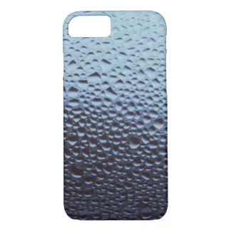 Water Drops Raindrops on Glass Window iPhone 7 Case