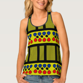 WATER DROPS TANK TOP, i Art and Designs Tank Top