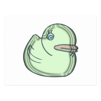 Water Duckie Postcard