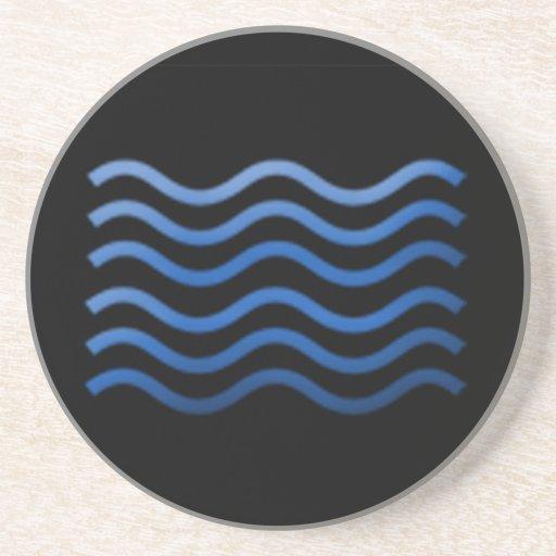 Water Element Beverage Coaster