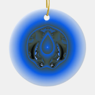 water element christmas tree ornaments