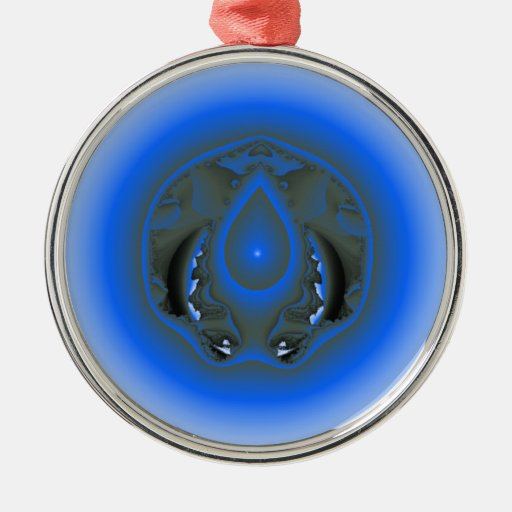 water element christmas tree ornament