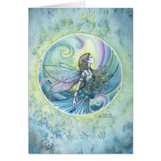 Water Element Fairy Greeting Card