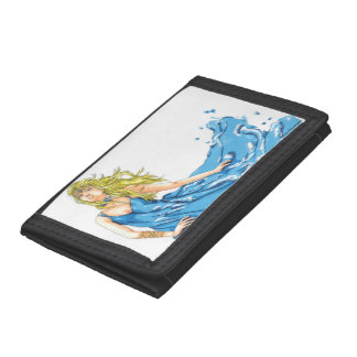 Water Element Fantasy Elf Wallet