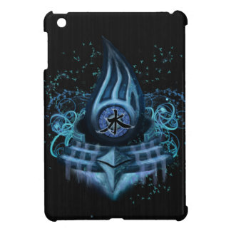 Water Element Kanji Illustration Art iPad Mini Case