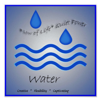 Water Element Poster