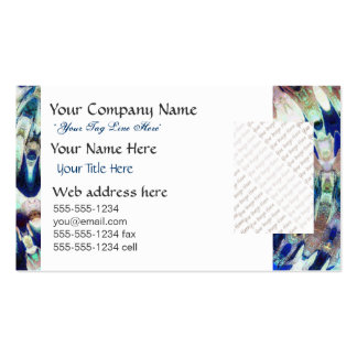 WATER Element Ripple Pattern Business Card Templates