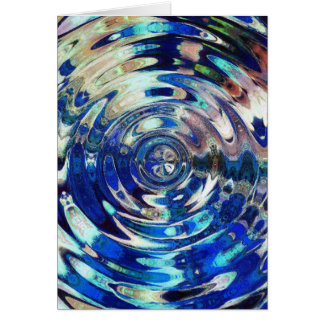 WATER Element Ripple Pattern Card