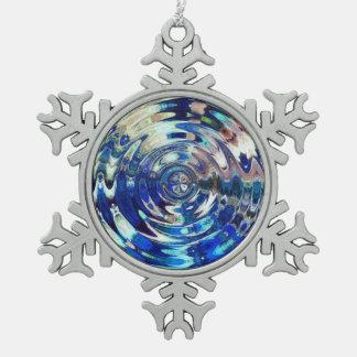 WATER Element Ripple Pattern Ornaments