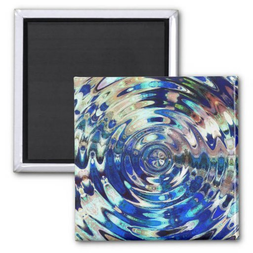 WATER Element Ripple Pattern Magnets