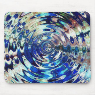 WATER Element Ripple Pattern Mouse Pad