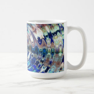 WATER Element Ripple Pattern Coffee Mug