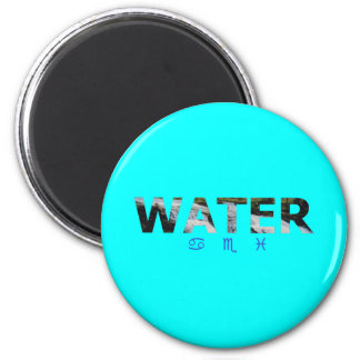 Water Element with Zodiac Signs Magnet