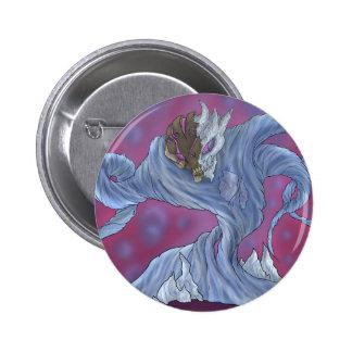 Water Elemental Pinback Button