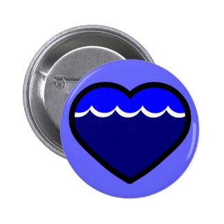 Water Elemental Heart Button