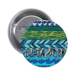 Water Elements 6 Cm Round Badge