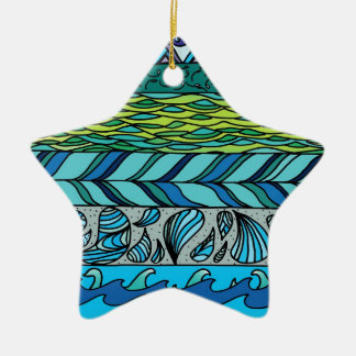 Water Elements Christmas Ornament