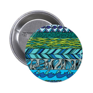 Water Elements Pinback Button