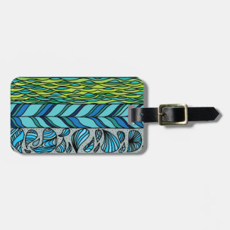 Water Elements Travel Bag Tags