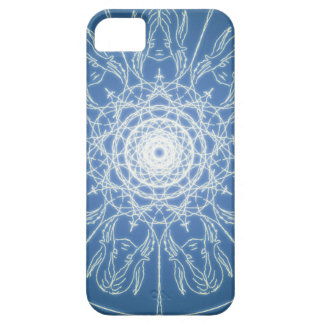 Water Elf Fairy Pentagram Wicca Pagan Spiral Snow Barely There iPhone 5 Case