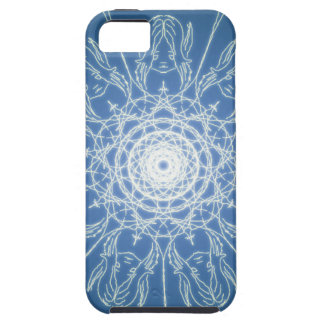 Water Elf Fairy Pentagram Wicca Pagan Spiral Snow Case For The iPhone 5