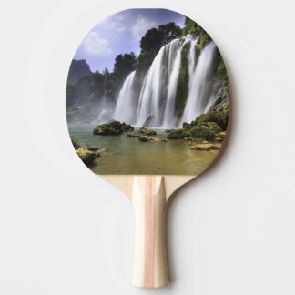 water fall ping pong paddle