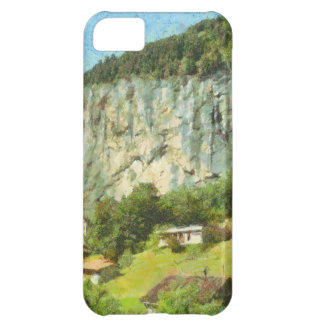Water falling off a cliff iPhone 5C case