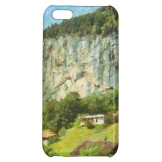 Water falling off a cliff iPhone 5C cases