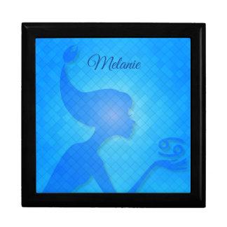 Water Fashion Diva Cancer Zodiac Gift Box
