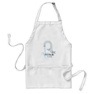 Water Faucet Adult Apron