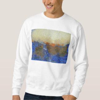 Water for melting ice sweatshirt