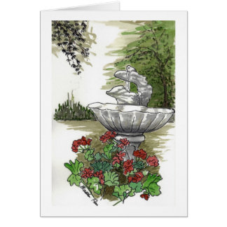 Water Fountain Cards
