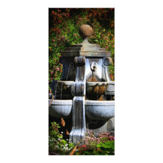 Water Fountain Personalized Rack Card