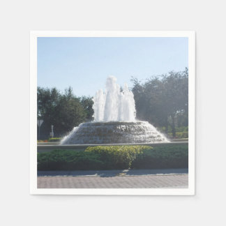 Water Fountains Flowing Paper Napkins