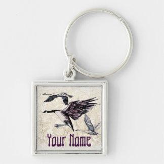 Water Fowl Key Ring