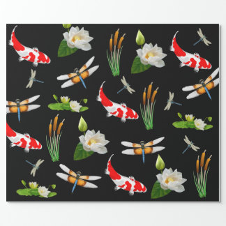 Water Garden w/Koi Wrapping Paper