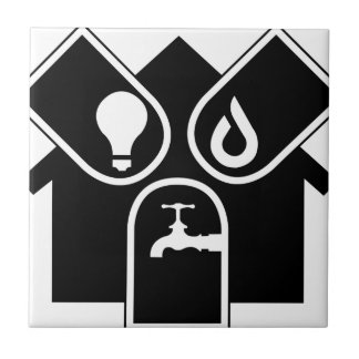 Water Gas Electric Ceramic Tile