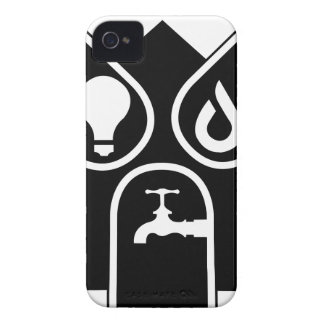 Water Gas Electric iPhone 4 Case-Mate Case
