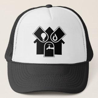 Water Gas Electric Trucker Hat