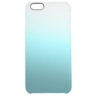 Water Gradient S01 Clear iPhone 6 Plus Case