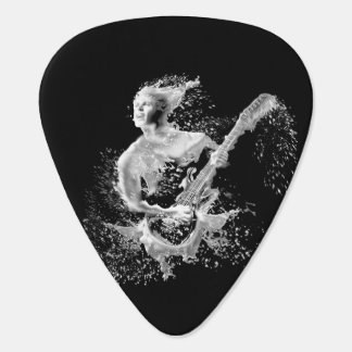 Water Guitar Player Plectrum