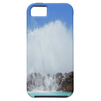 Water hitting rocks on canary islands iPhone 5 case