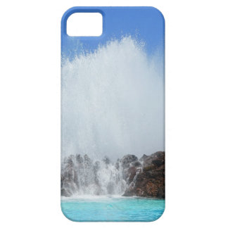 Water hitting rocks on canary islands iPhone 5 cases