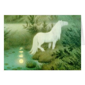 Water Horse Spirit Kelpie Backahast Card