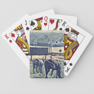 Water Horses Playing Card Deck