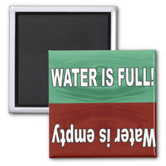 Water is full and empty magnet