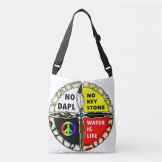 Water is Life - No Pipelines Tote Bag